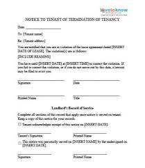 tenant move out notice vacating notices ez landlord forms