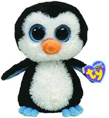 ty beanie boos plush waddles penguin 8421360086
