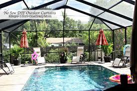 Diy Backyard Shade Make Your No Sew Diy Outdoor Curtains On A Budget 2 Boys 1