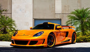 orange porsche download wallpaper porsche carrera gt orange front view free