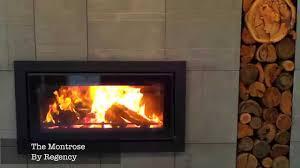 regency montrose wood heater review youtube