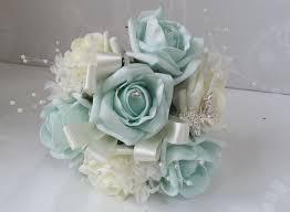 artificial wedding flowers teal wedding flowers beautiful artificial wedding flowers