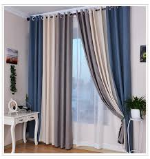 Steel Grey Curtains Thick Dense Linen Curtains For Living Room Blackout Curtain