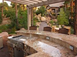 outdoor built in grills awesome small outdoor kitchen ideas