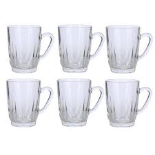 tea cup set handled glass tea cup set set of 6 free shipping on orders