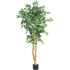 silk ficus 5 foot tree free shipping today overstock 11351736