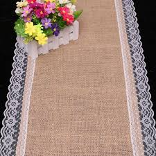 fabric for table runners wedding burlap table runner wedding deco 30cm x 180cm linen table runner