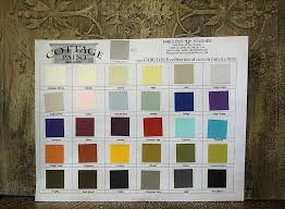 cottage paint color chart at fabulous finishes