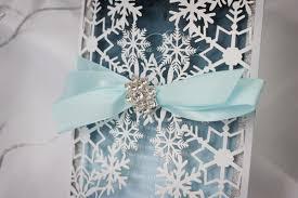 Snowflake Wedding Invitations Luxurious Snowflake Laser Cut Winter Wedding Invitation
