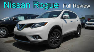 nissan rogue 2016 nissan rogue full review s sv u0026 sl youtube