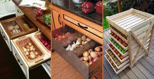 vegetable storage kitchen cabinets goodshomedesign