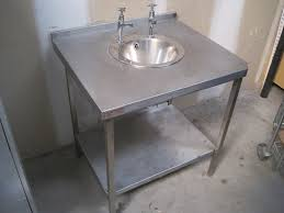home decor stainless steel freestanding sink vessel sink