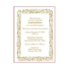 funeral invitation sle invitation cards for a tombstone unveiling worthy sles to buy