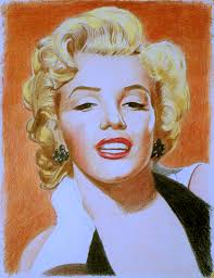 marilyn monroe portrait painting from photo photo to painting