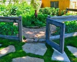 Fence Ideas For Small Backyard by Vegetable Garden With Stick Fencing Awesome At Keeping Deer At Bay