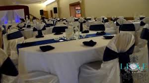 blue and silver wedding 2013 royal blue wedding decor by luxe weddings and events