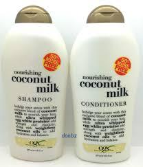 organix coconut milk shampoo u0026 conditioner 50 bonus free 577 ml