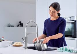 semi professional kitchen faucet blanco solenta senso semi professional kitchen faucet blanco