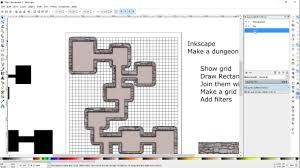 make a roll20 dungeon map for pathfinder or d u0026d using inkscape