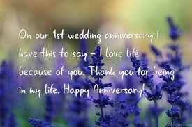 Wedding Anniversary Wishes For Husband First Wedding Anniversary Wishes For Husband In Marathi Best