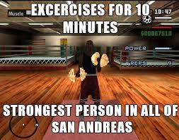 Gta Memes - gta gym logic ign times