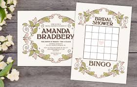 17 free bridal shower games with free printables