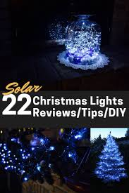 solar powered christmas lights solar powered christmas lights led 22 best reviewed