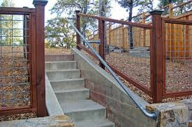 Buy A Banister 15 Customer Railing Examples For Concrete Steps Simplified Building