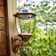 fashion style wall lamps deck step lights solar lights
