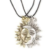 star friendship necklace images Best friends sun moon pendant necklaces claire 39 s us jpg