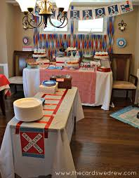 interior design simple train themed birthday party decorations