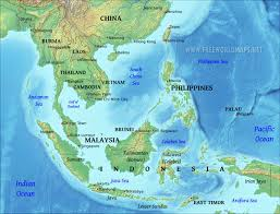 Physical Map Of Southwest Asia by Southeast Asia Physical Map South East Asia Physical Map Game