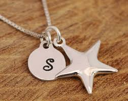 necklace silver etsy images Star necklace etsy jpg