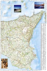 Map Of Sicily Italy by Sicily Italy National Geographic Adventure Map National
