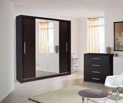 wardrobe stunning mirrored wardrobe closet modern and fancy