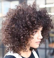 naturally curly hairstyles for plus size women 40 cute styles featuring curly hair with bangs