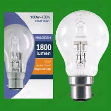 100w clear incandescent light bulb 10x 100w 130w clear dimmable halogen gls energy saving light bulb