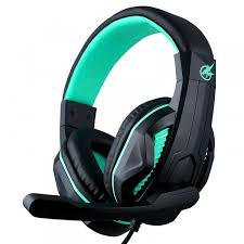 port designs port designs arokh h1 wired gaming headset green port