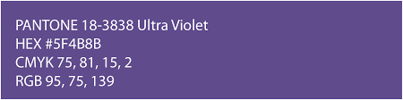 pantone color of the year hex colour of the year 2018 ultra violet