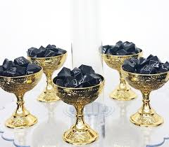 Blue And Gold Baby Shower Decorations by 12 New Small Gold Cup Favors For Royal Baby Shower Perferct