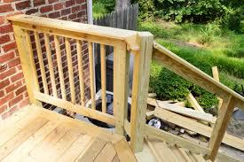 Deck Stair Handrail Kitchen Awesome Decks Deck Stair Handrails Hand Railing Prepare