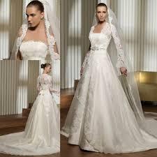 lace wedding dress with jacket sleeves wedding dresses with jackets fashion dresses