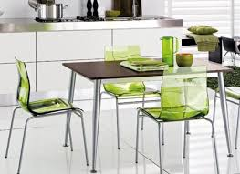 Green Kitchen Chairs Around A White Table Kitchen Chair And Table - Green kitchen table