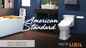 How To Install A Bidet How To Install The Spalet Bidet Seat Youtube