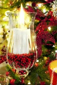 Outdoor Christmas Decorations Candles by
