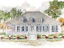 creole cottage floor plan classic creole home southern living