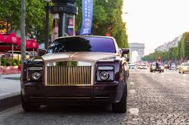 gold phantom car gold u0026 purple rolls royce madwhips
