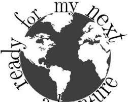graduation cap stickers globe stickers etsy