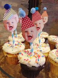 Birthday Party Ideas Homemade Easiest Diy Cupcake Toppers For A First Birthday Party U003c3
