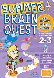 amazon com summer brain quest between grades 2 u0026 3